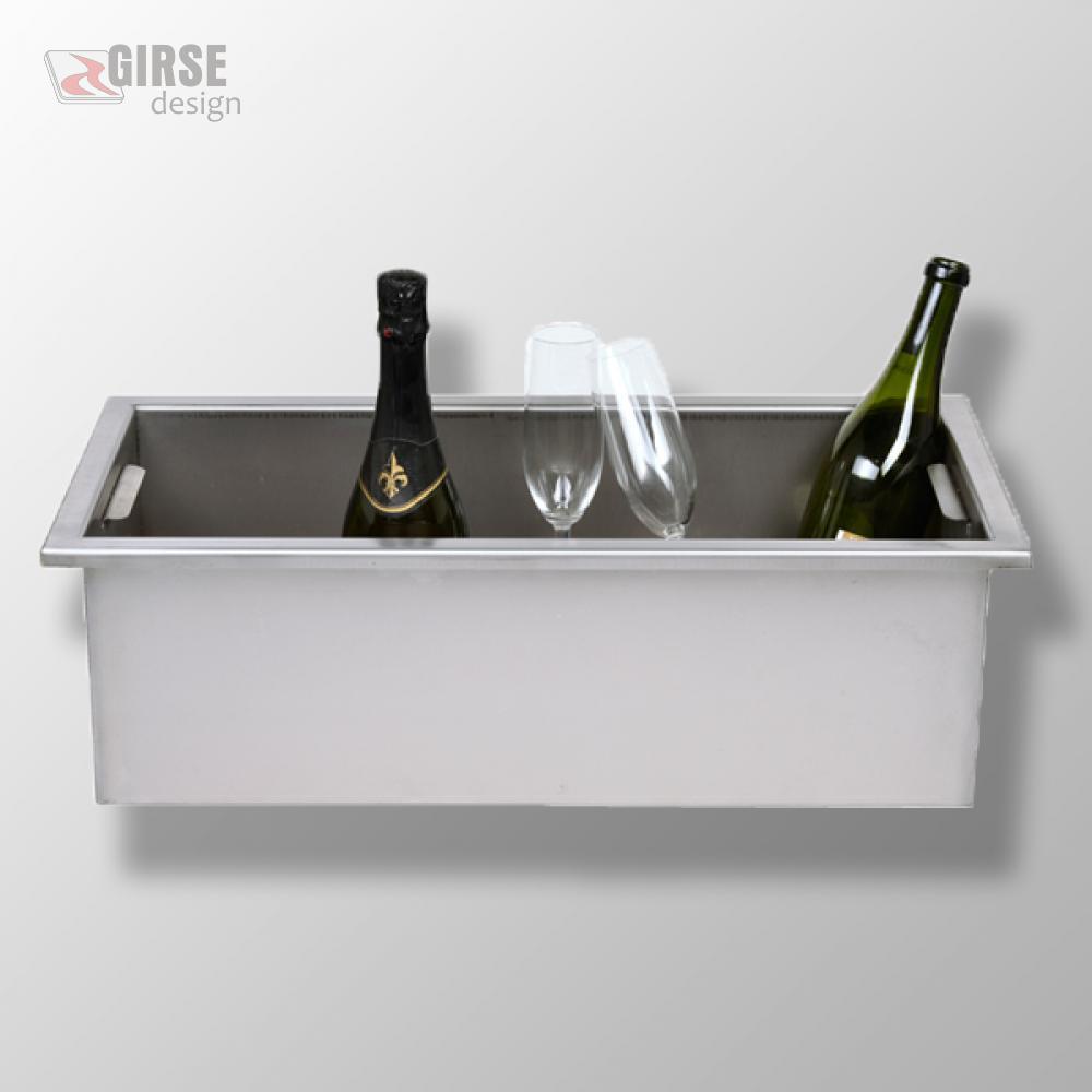 edelstahl sektk hler sektk bel gross girse design edelstahltisch magic table zubeh r. Black Bedroom Furniture Sets. Home Design Ideas