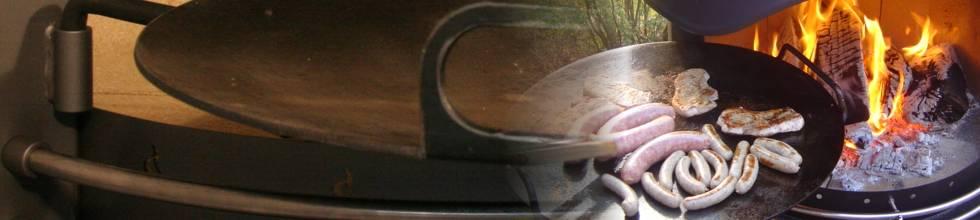 Steakpfanne - perfektes Braten mit Girse-Design Kaminen