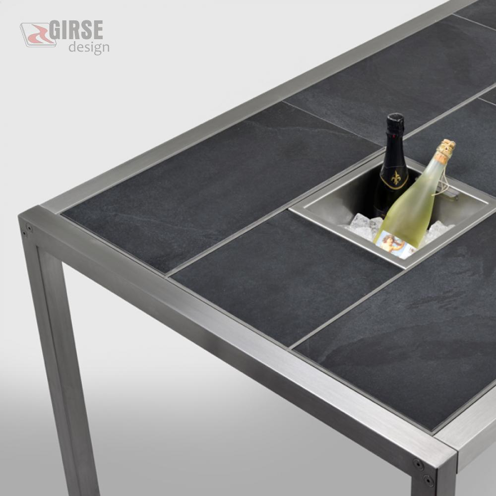 Magic Table Schiefer matt - Girse-Design Multifunktionstisch