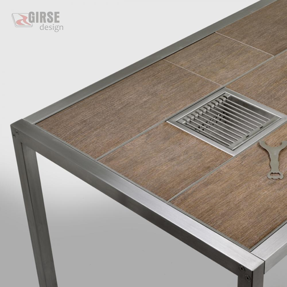Magic Table Holz-Dekor - Girse-Design Multifunktionstisch
